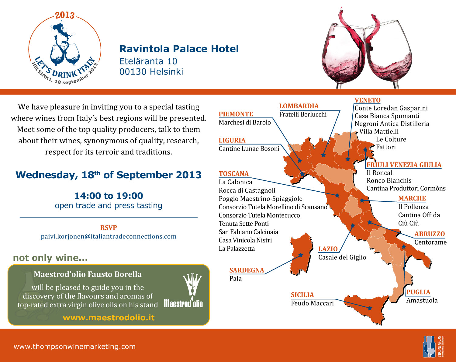Let's Drink Italy/Thompson Wine Marketing